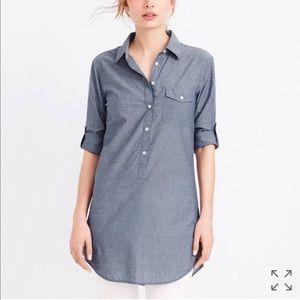 Jcrew Factory Chambray Tunic